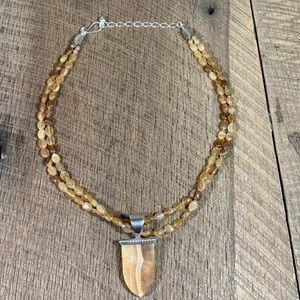 Jay King DTR 925 Carnelian Agate Necklace